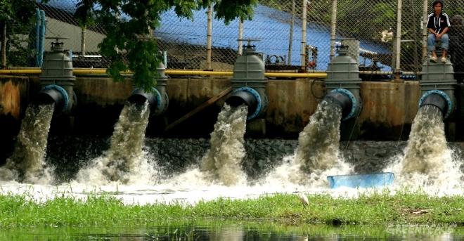 Agua residual industrial